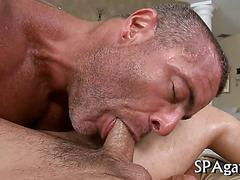 Wild blowjob for gay sexy segment 1