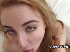 casting, hardcore, blonde, small tits