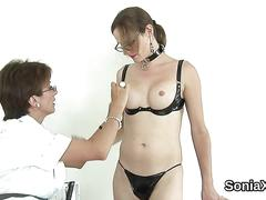Unfaithful british mature lady sonia presents her massive titties