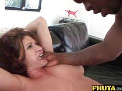 Fhuta  milf slut loves to get both holes stretched