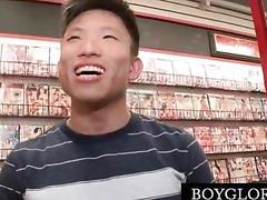 Straight guy fucked by horny gay on gloryhole movie