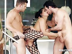 Seductive alexa tomas gets her pussy slammed