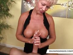 blonde, handjob, mature, pov, realtampaswingers, mom, mother, old, milf, oral, reality, wanking, stroking-dick, big-boobs, tug