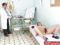 Mature amateurs gyno exam