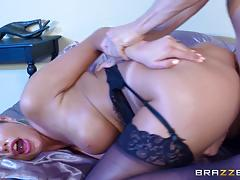 Dick pounding august ames