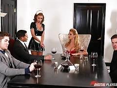 Beautiful sex slave britney amber hammered balls deep