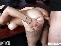 big tits, blonde, hardcore, milf, naughtyoffice, naughtyamerica, fake-tits, big-boobs, hairy, stockings, big-tits, office-sex, riding, cowgirl, doggy-style, bent-over-desk, deepthroat