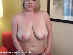Blonde babe maggie green cums with anal beads!