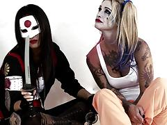 Suicide squad parody sn 1 sexy lesbians kleio valentien and asa akira