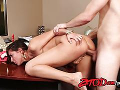 Babe rilynn rae fucked by the boss