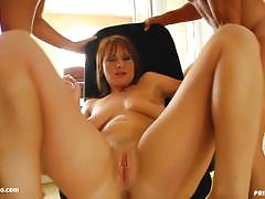 Hot babe double penetrated