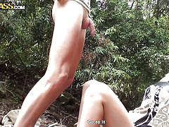 babe, outdoor, amateur, masturbation, blowjob, brunette, rubbing, big dick, fuck from behind, porn weekends, wtf pass, cleopatra rios