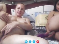 Lebians at skype