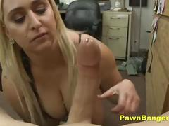 Busty mom trades her cunt for cash