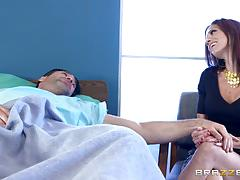 Kiera rose slides her wet pussy down a rock hard dick