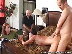 Wild housewife loves to fuck