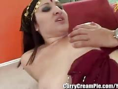 Chubby indian slut gets creampied in her hairy pussy   omg free porn videos