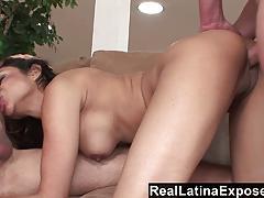Latina dped in threesome