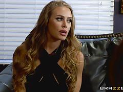 Spunking over nicole aniston and nikki benz