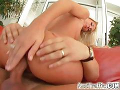 Sizzling blondesfirst anal scene