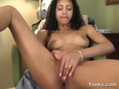 amateur, ebony, masturbation, yanks, masturbate, black, solo, softcore, fingering, small-tits, hd, natural-breasts, orgasm, pussy-play, shaved-pussy, babe, hottie, dsl, pov