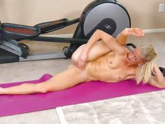 Fitness masturbation