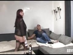 Busty german wench gets nailed