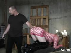blonde, bondage, fetish, toys, kink, kinky, bdsm, wasteland, femdom, dominatrix, dildo, spanking, tied-up, domination, sex-and-submission, orgasms, screaming, pussy-torment, submissive