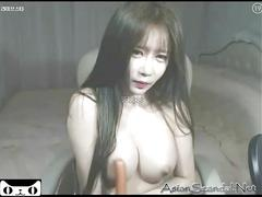 Hot girl korean show boobs