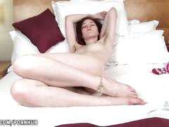 masturbation, toys, red head, small tits, pale, gigner, hairy-pussy, hairy, dildo, vibrator, orgasm, small-boobs, skinny, petite, atkhairy, adult-toys, masturbate