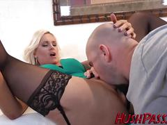 big dick, blonde, blowjob, anal, bubblebuttbonanza, ass-fuck, big-cock, ass-to-mouth, big-dick, big-ass, gaping, jmac, fake-tits, big-tits, hushpass, stockings, reality, interview, anal-fingering