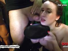 Little josie the cute orgasm donor - extreme bukkake
