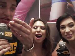 Vitaly zd at avn 2016 with romi rain and aria alexander interviews
