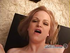Busty wife takes bwc in homemade sex tape