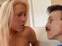 Blonde wife cuckold