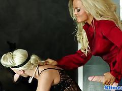 Racy babe fucks her partners warm pussy
