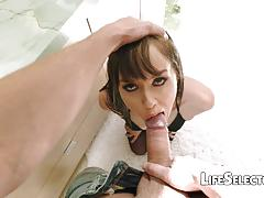 Babe savannah fyre loves cocks