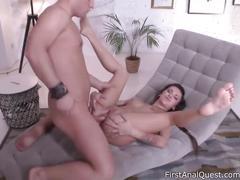 Tori hendrix stars in sweet anal session