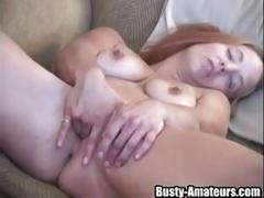 big tits, masturbation, toys, busty, bigtits, bigboobs, blonde, fingerfuck, toy, solo, amateur