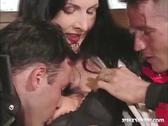 Kate enjoys anal and dp in a hot threesome