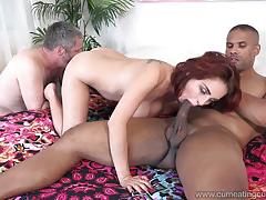 Ashley graham loves big black cock