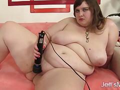 big tits, masturbation, fat, dildo, vibrator, chubby, bbw, chunky, plumper