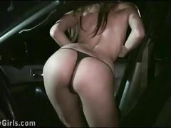 Kitty jane public gangbang with a random strangers through the car window