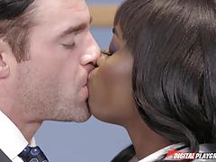 ana foxxx, charles dera, fucked, cumshot, cum, interracial, licking, clit, orgasm, black woman, balls deep, licking pussy, pussy eating