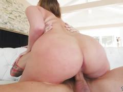 Fat ass harley jade rides huge cock