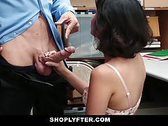 Naughty amateur loves cock