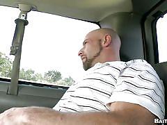 Naive boy seduced by a bald gay