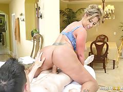 Eva notty drilled doggystyle