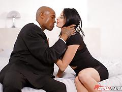 Anissa kate hammered balls deep by big black boner