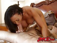 Milf rio lee gets her pussy nailed